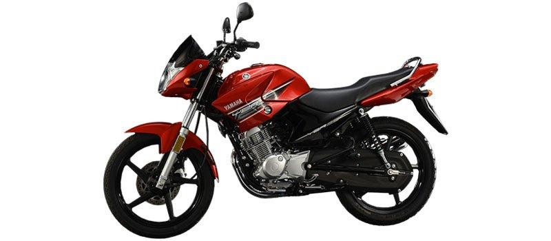 Yamaha YBR 125 red performance
